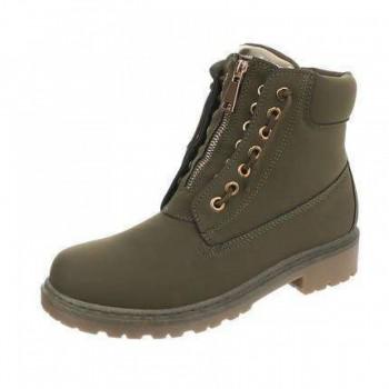Ghete Damen Boots - DK.green 722960GHTGER