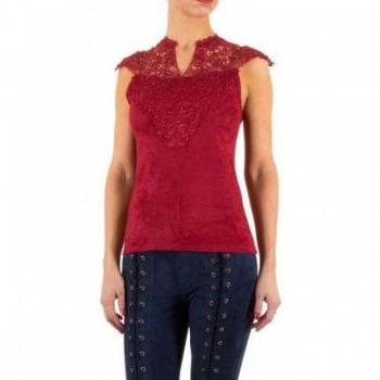 Bluza Damen Bluse - red 240600BLZGER
