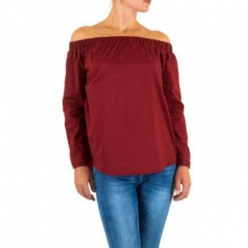 Bluza Damen Bluse - DK.red 204380BLZGER