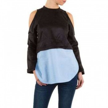 Bluza Damen Bluse - black 458681BLZGER