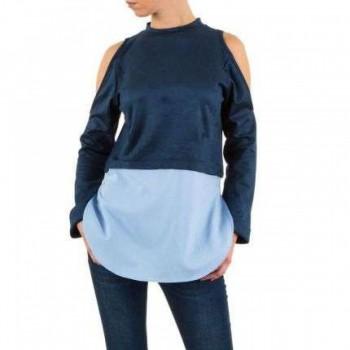 Bluza Damen Bluse - blue 520837BLZGER