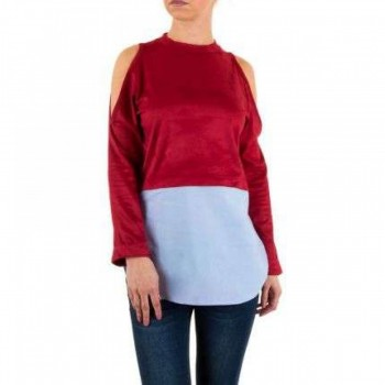 Bluza Damen Bluse - bordeaux 249871BLZGER
