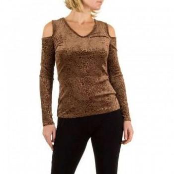 Bluza Damen Bluse - beige 372539BLZGER