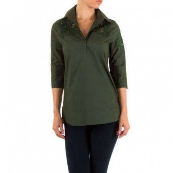 Bluza Damen Bluse - green 139976BLZGER