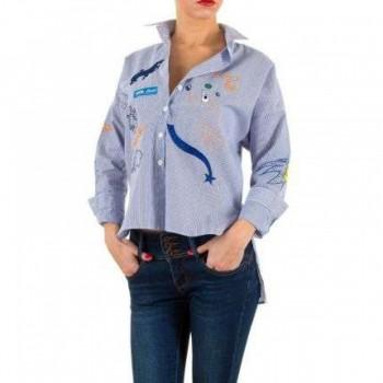 Bluza Damen Bluse - blue 494283BLZGER