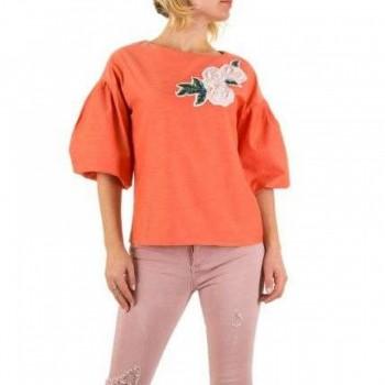 Bluza Damen Bluse - coral 221582BLZGER