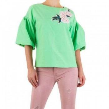 Bluza Damen Bluse - green 422653BLZGER