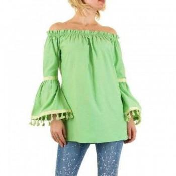 Bluza Damen Bluse - green 694058BLZGER