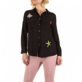 Bluza Damen Bluse - black 527708BLZGER