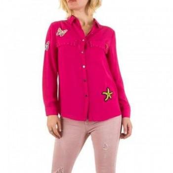 Bluza Damen Bluse - pink 189880BLZGER