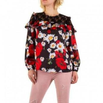 Bluza Damen Bluse - black 984073BLZGER
