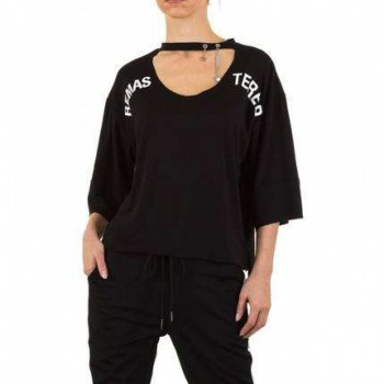 Bluza Damen Bluse - black 266725BLZGER