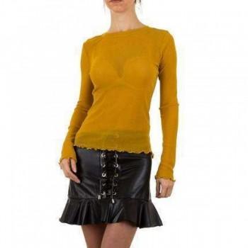 Bluza Damen Bluse - senf 488280BLZGER