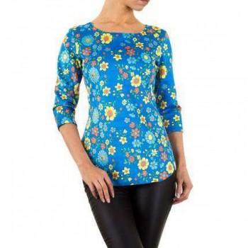 Bluza Damen Bluse - blue 826348BLZGER