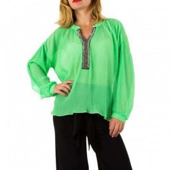 Bluza Damen Bluse - green 903267BLZGER