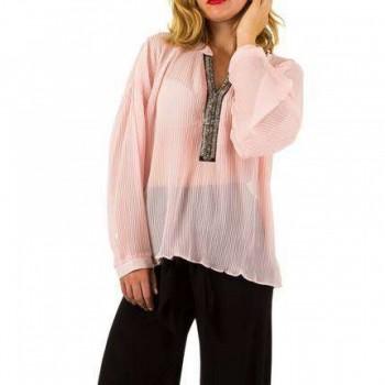 Bluza Damen Bluse - rose 993721BLZGER