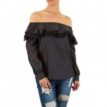 Bluza Damen Bluse - black 970093BLZGER