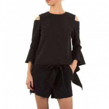 Bluza Damen Bluse - black 763855BLZGER