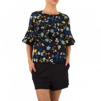 Bluza Damen Bluse - black 611611BLZGER