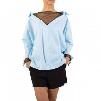 Bluza Damen Bluse - L.blue 871141BLZGER