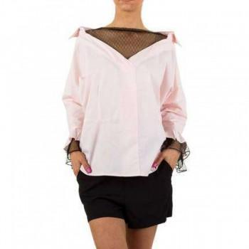 Bluza Damen Bluse - rose 753125BLZGER