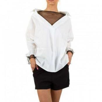 Bluza Damen Bluse - white 165767BLZGER