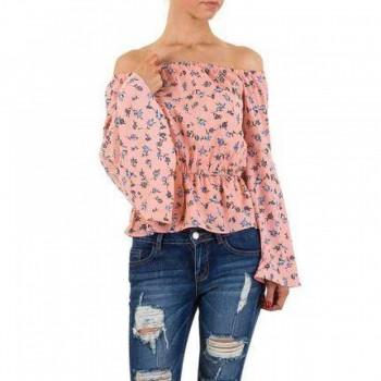 Bluza Damen Bluse - rose 124225BLZGER