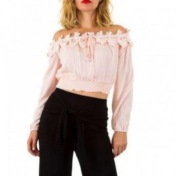 Bluza Damen Bluse - pink 163091BLZGER