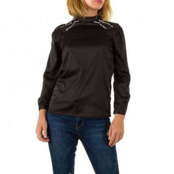 Bluza Damen Bluse - black 255779BLZGER
