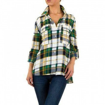 Bluza Damen Bluse - green 699133BLZGER
