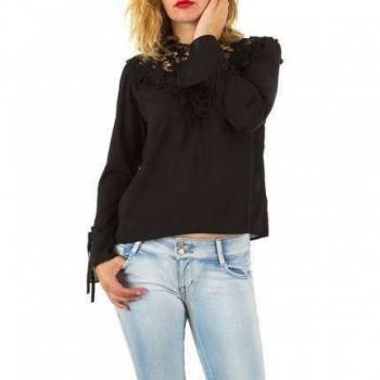 Bluza Damen Bluse - black 608648BLZGER