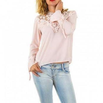 Bluza Damen Bluse - pink 645353BLZGER