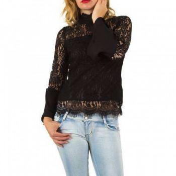 Bluza Damen Bluse - black 269381BLZGER