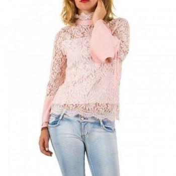Bluza Damen Bluse - pink 970540BLZGER