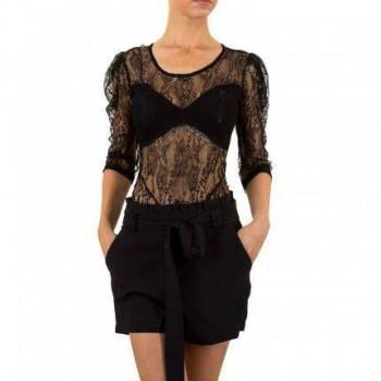Bluza Damen Bluse - black 551547BLZGER