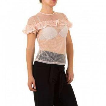 Bluza Damen Bluse - rose 914862BLZGER