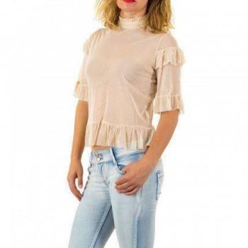 Bluza Damen Bluse - beige 289954BLZGER
