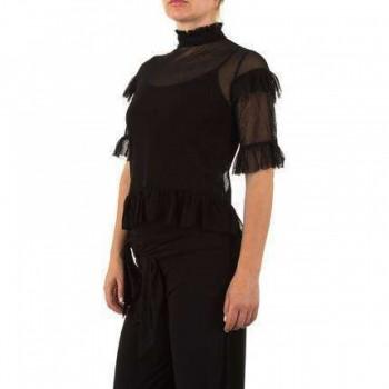 Bluza Damen Bluse - black 944006BLZGER