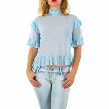 Bluza Damen Bluse - blue 836486BLZGER