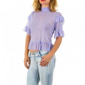 Bluza Damen Bluse - lila 911061BLZGER
