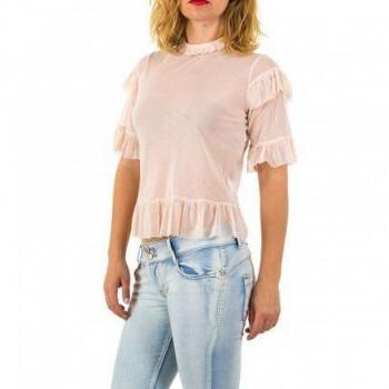 Bluza Damen Bluse - rose 656092BLZGER