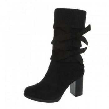 Cizme Damen High Heel Stiefel - black 189865CIZGER