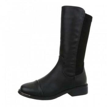 Cizme Damen Klassische Stiefel - black 738983CIZGER