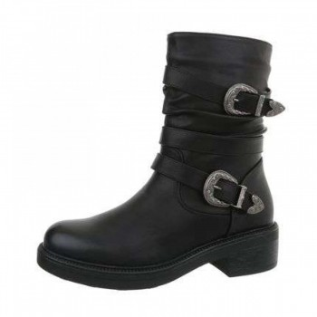Cizme Damen Klassische Stiefel - black 964632CIZGER
