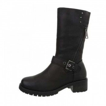 Cizme Damen Klassische Stiefel - black 987224CIZGER