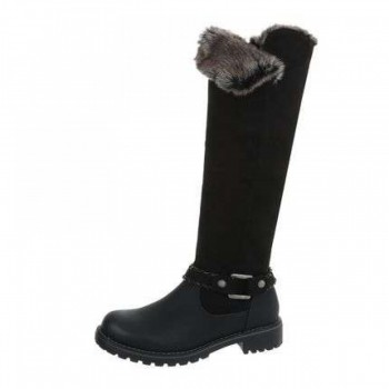Cizme Damen Klassische Stiefel - black 491574CIZGER