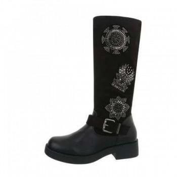 Cizme Damen Klassische Stiefel - black 894642CIZGER
