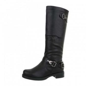 Cizme Damen Klassische Stiefel - black 408313CIZGER