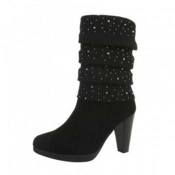 Cizme Damen High Heel Stiefel - black 114690CIZGER