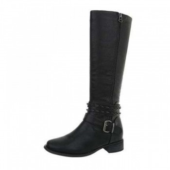 Cizme Damen Klassische Stiefel - black 256303CIZGER